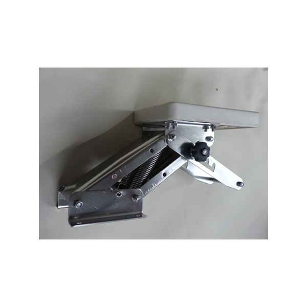 Chaise moteur hors bord articulee inox marine stock for Chaise yamaha