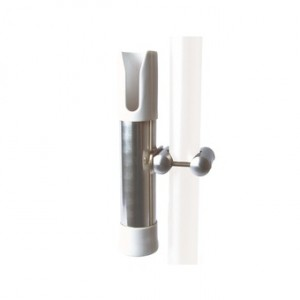 SUPPORT CANNE OUVERT BALCON ORIENTABLE