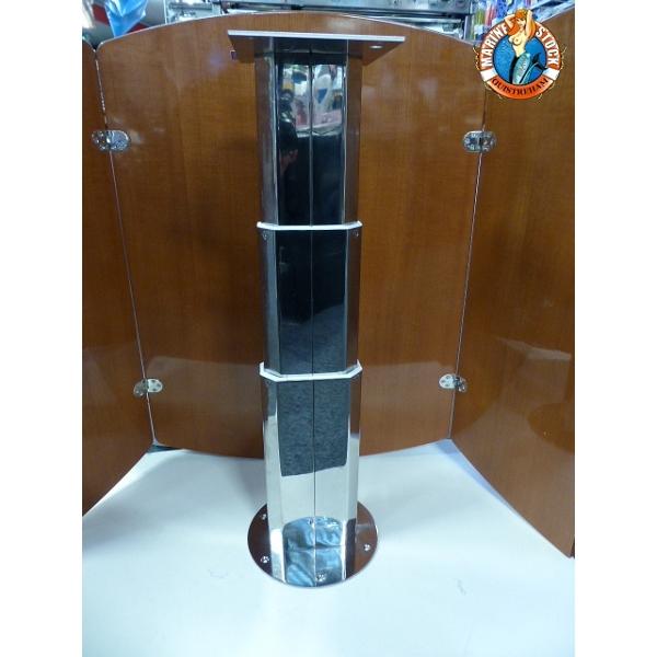 Pied de table telescopique a verin fin de serie marine - Table ronde telescopique ...