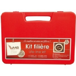 KIT FILIERE GAINE CABLE 4MM 6M