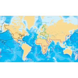 CARTE SILVER EUROPE RAYMARINE