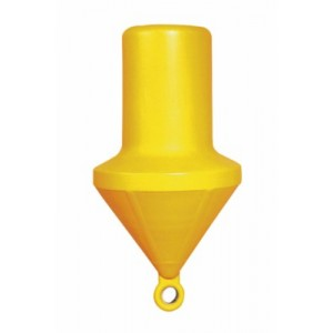 BOUEE  CYLINDRIQUE 800MM JAUNE